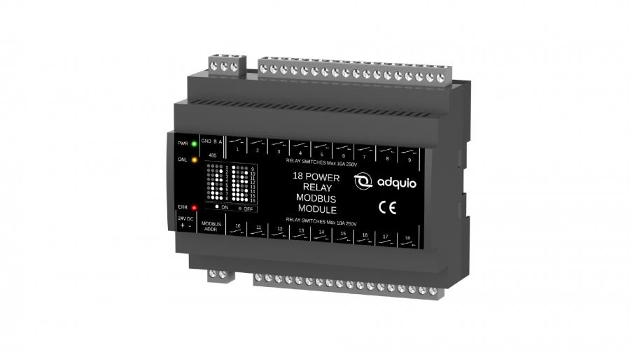 configuración para adquio 18 relay module
