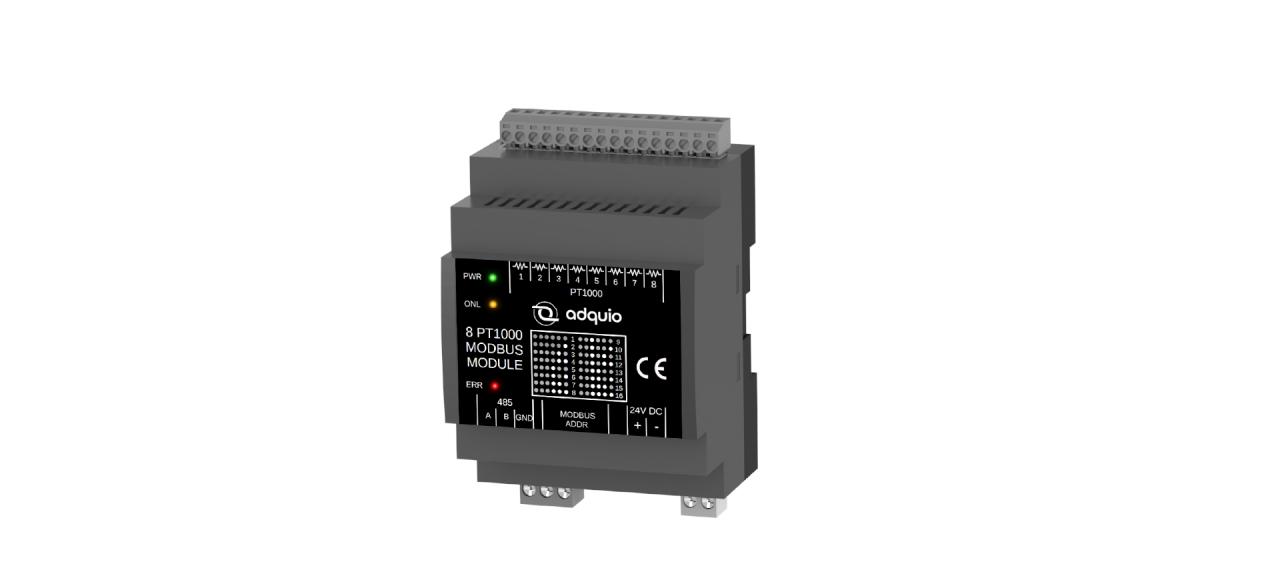 configuration for adquio 8 PT1000