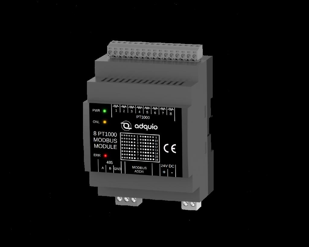 adquio 8 PT1000 modbus module