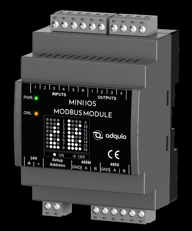 Módulo Modbus de entradas y salidas digitales