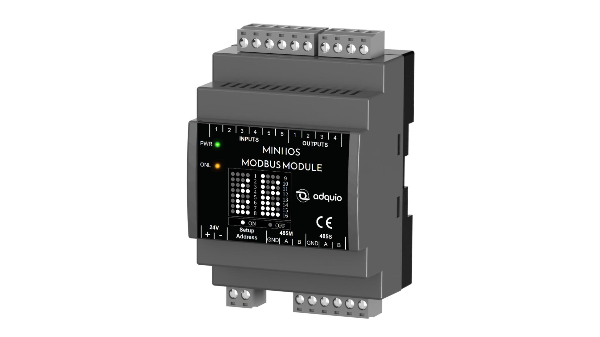 adquio mini IOS modbus module